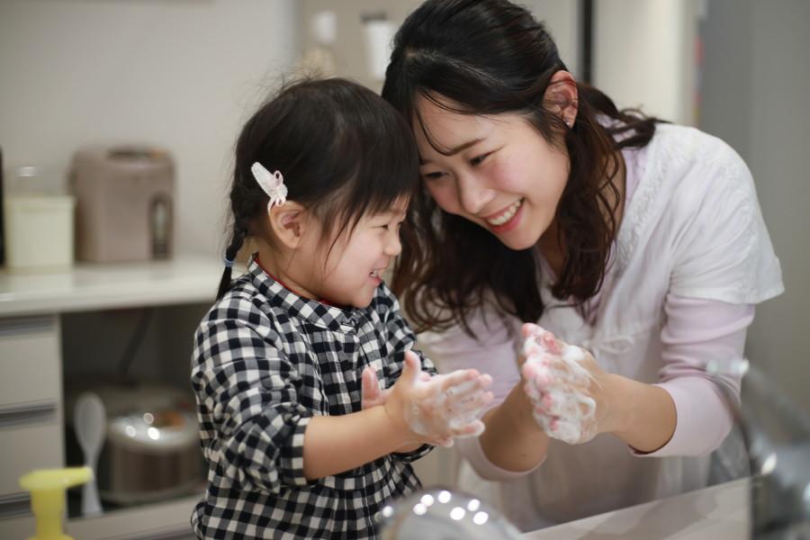 子供にも正しい手洗いを教えてあげよう
