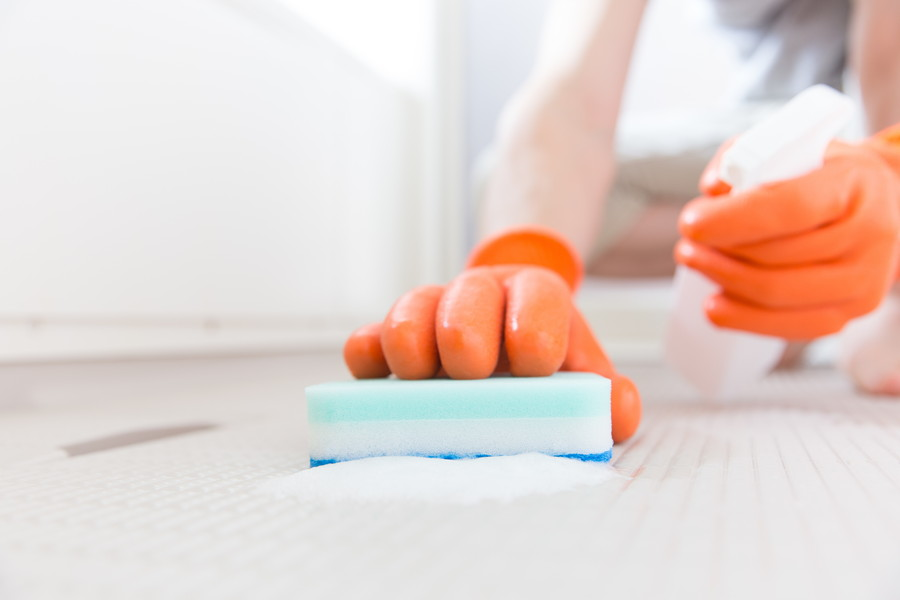 風呂場の掃除