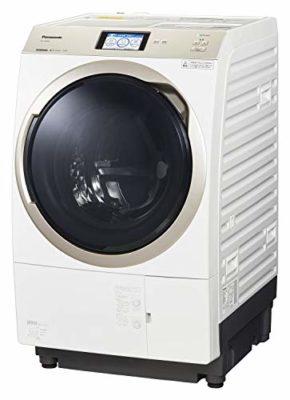 パナソニック ななめドラム洗濯乾燥機 11kg 左開き 液体洗剤・柔軟剤 自動投入 ナノイーX クリスタルホワイト NA-VX900AL-W