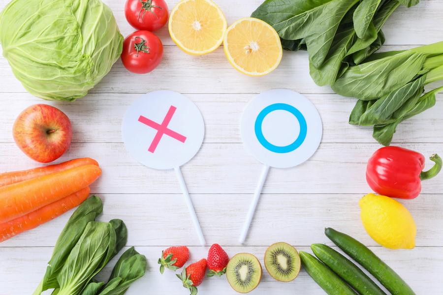 野菜の選別