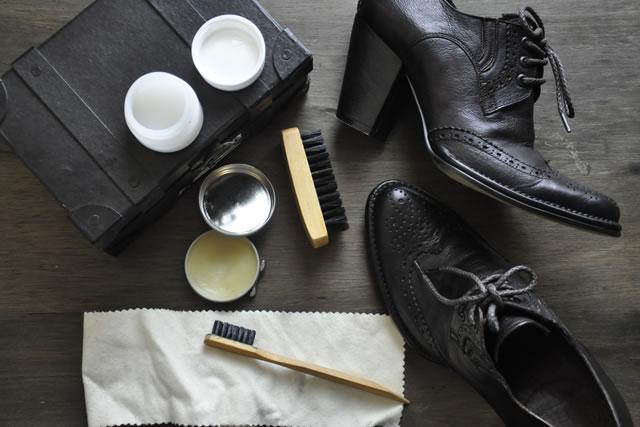 革靴お手入れセット