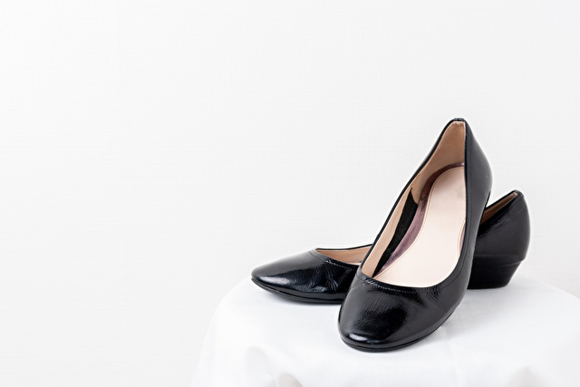 レディースの革靴