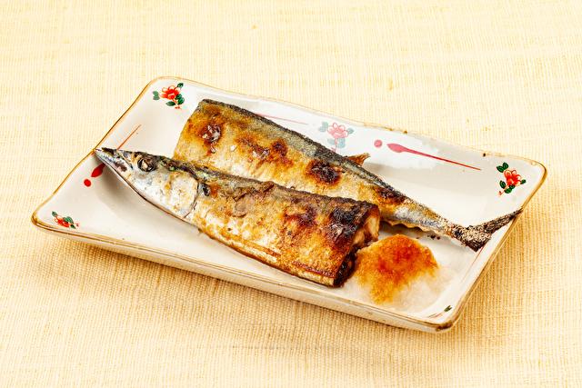 魚介料理 秋刀魚の塩焼き