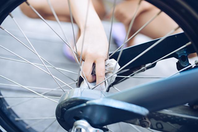 自転車掃除