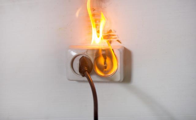 火災につながる電気的障害