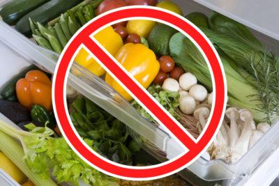野菜の賞味期限を短くしているNG行為とは