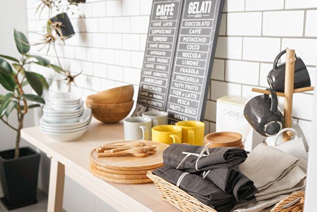 キッチン雑貨を販売する店
