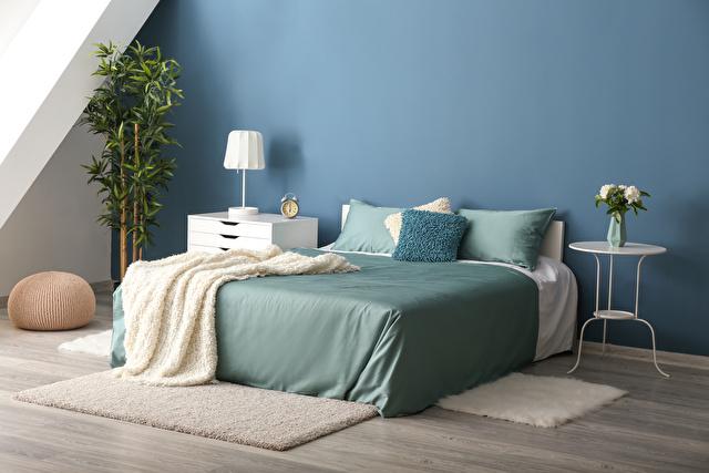 寝室青イメージ