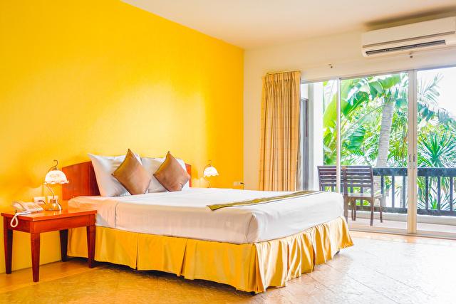 寝室黄色イメージ