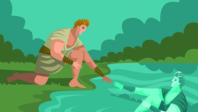ナルキッソスの神話