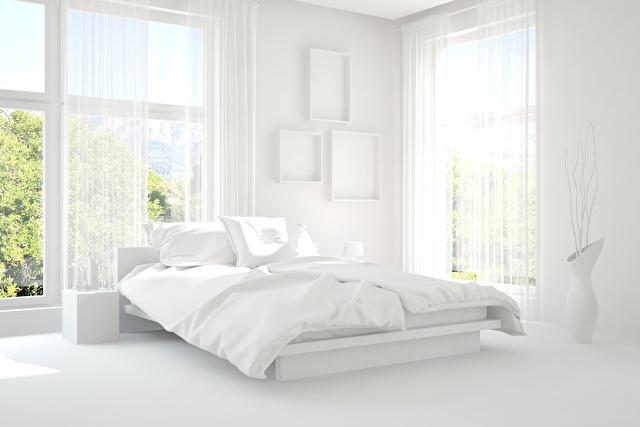 寝室白イメージ