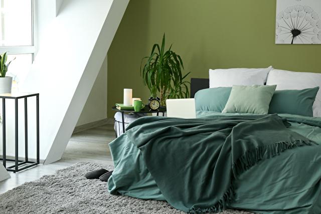 寝室緑イメージ