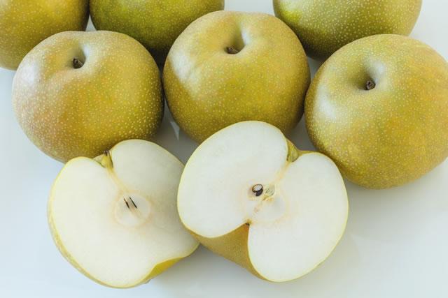 よく育った梨