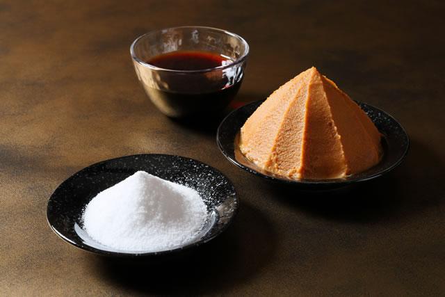 味噌と塩と醤油