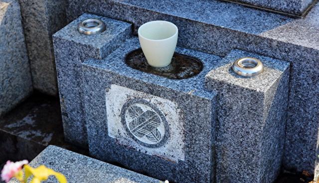 墓石 汚れイメージ