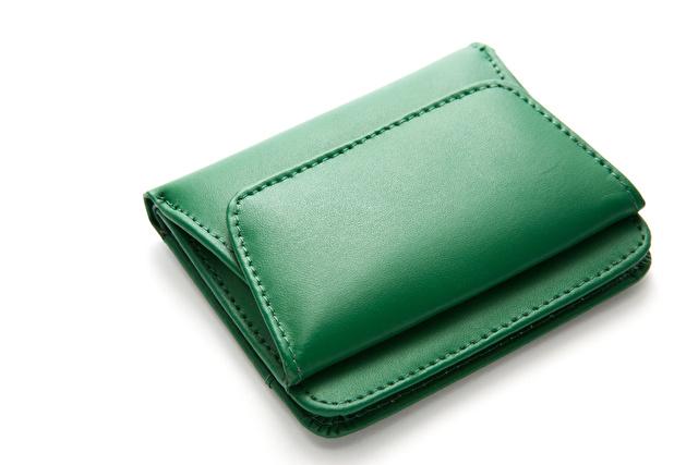 グリーンの財布
