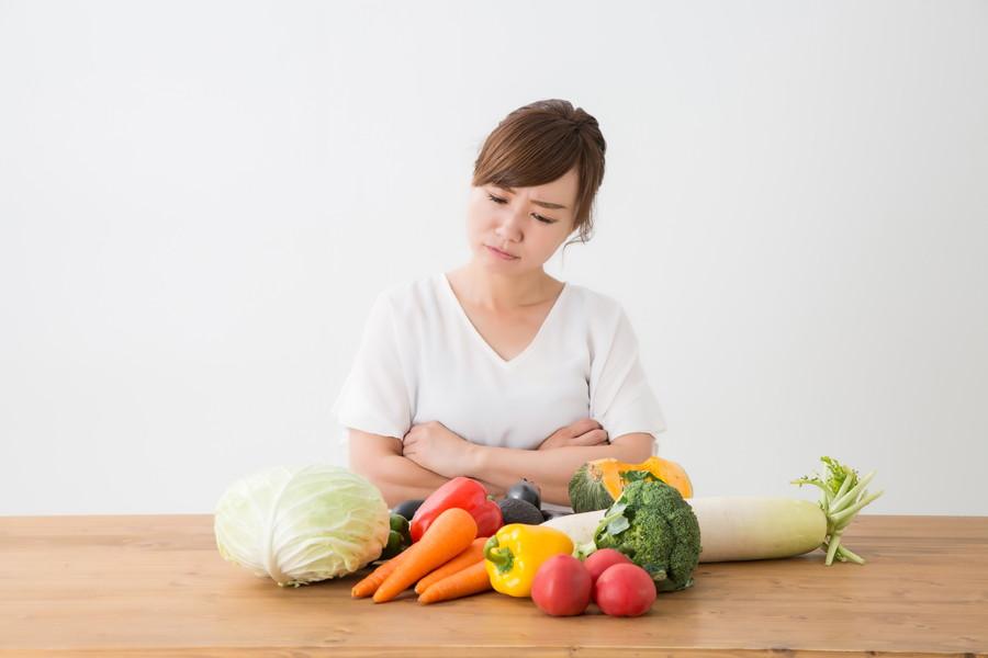 すぐに野菜がダメになる