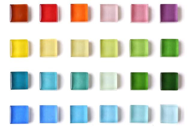24色透明感可愛いマグネット