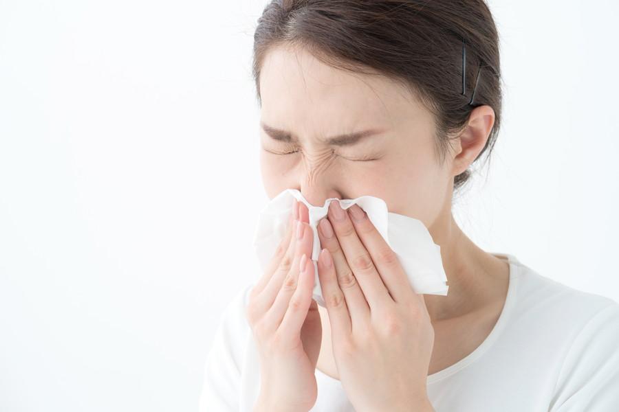 花粉症の人は要注意