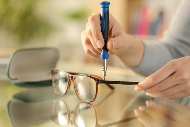 メガネをメンテナンスしよう