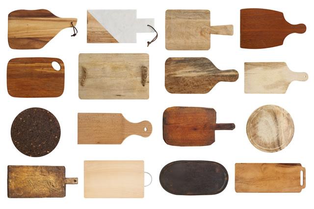 数種類のまな板