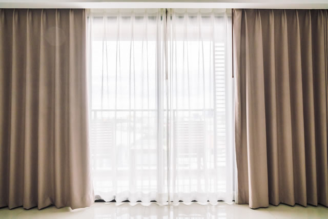 Curtains window