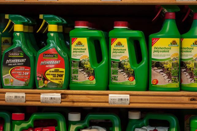 色々な除草剤