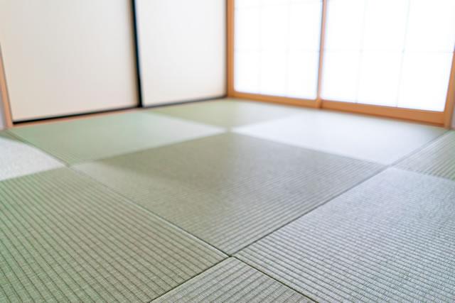 畳縁のない美しい畳