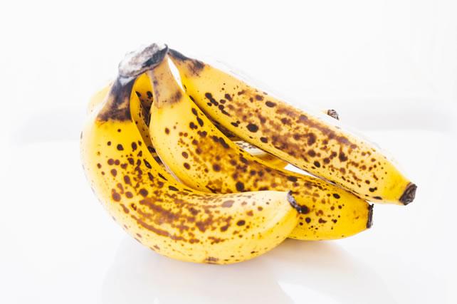 茶色くなったバナナ