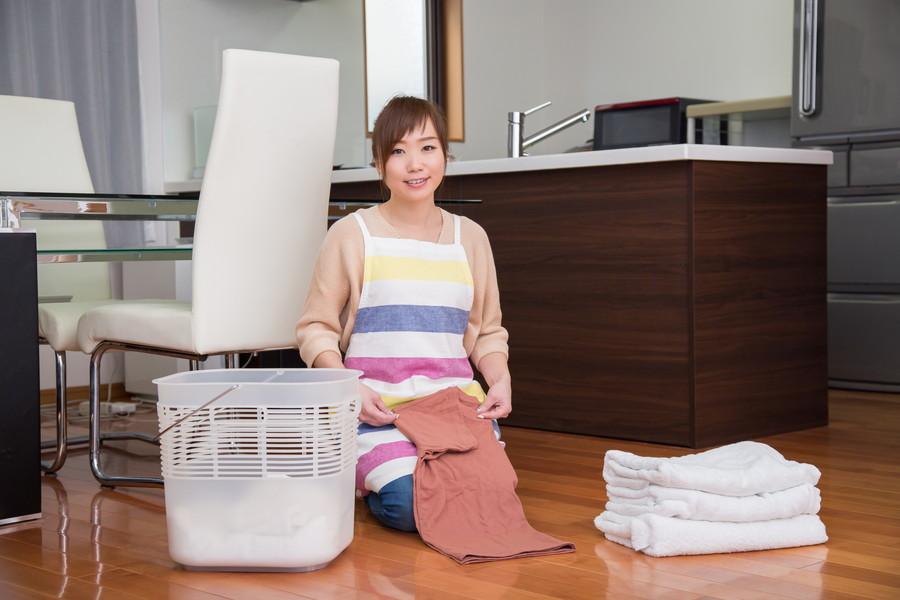 洗濯物は正しく干そう