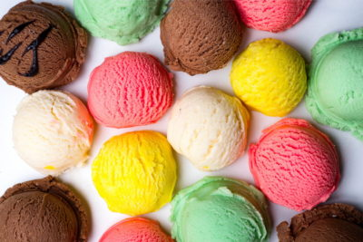 好きなアイスを選ぼう