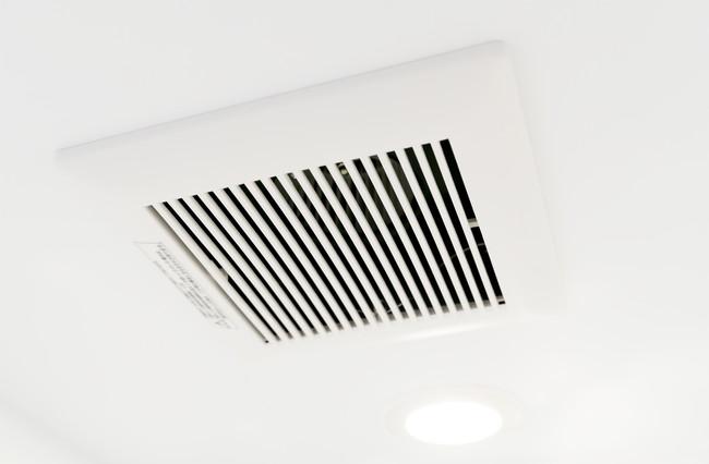 バスルームの換気扇