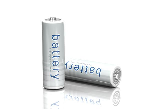 2本の乾電池