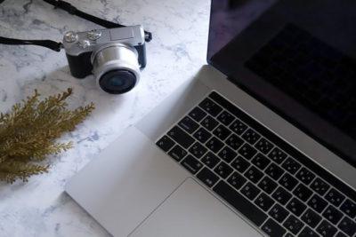 カメラとパソコン