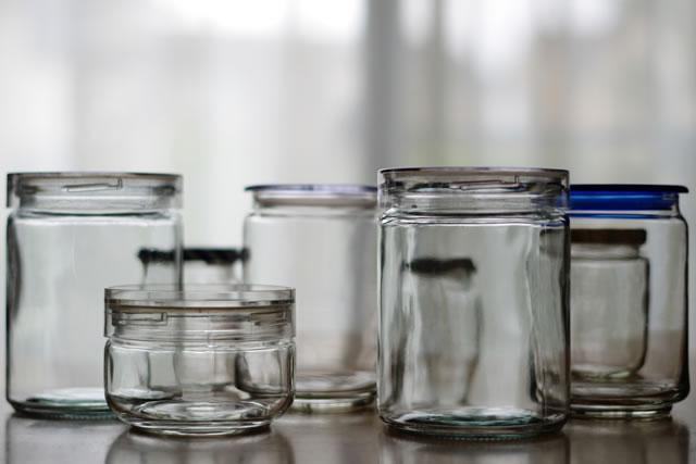 保存用ガラス容器