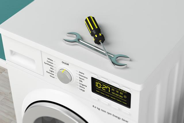 洗濯機と工具