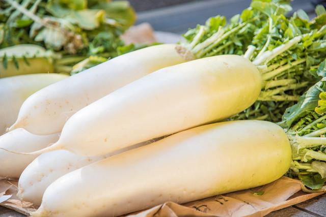 大根は定番の野菜