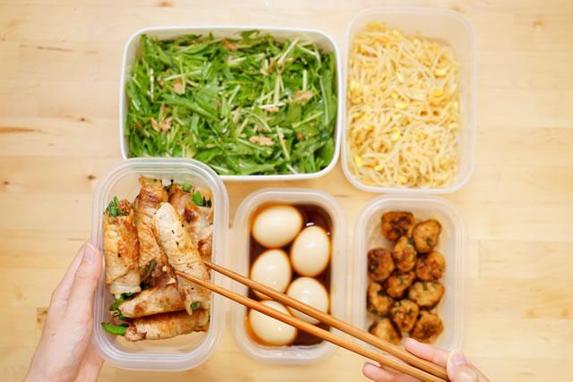 作りおき タッパー 保存食 冷蔵庫 チルド お弁当 おかず お惣菜