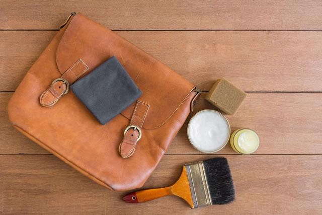 革製品とお手入れ道具