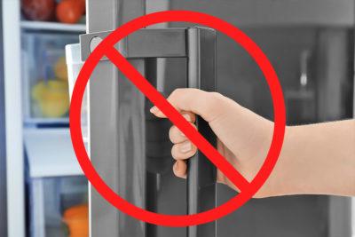 NGな冷蔵庫の使い方とは