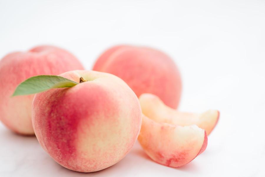 とっても美味しい桃