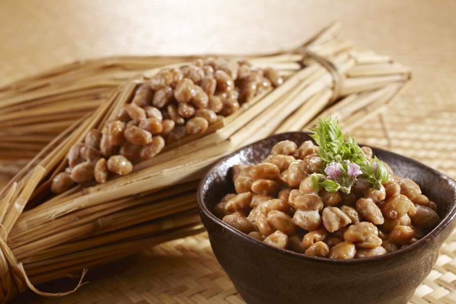 日本の食卓の定番、納豆