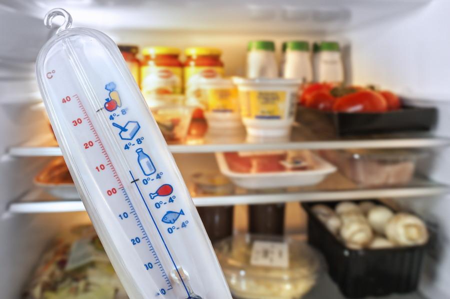 冷蔵庫の温度は把握しておくべき