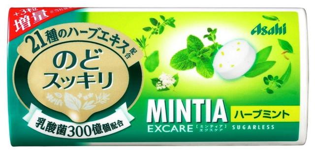 アサヒグループ食品 ミンティア エクスケア ハーブミント 28粒 ×18個