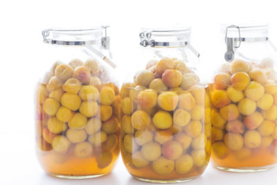 梅酢を保存