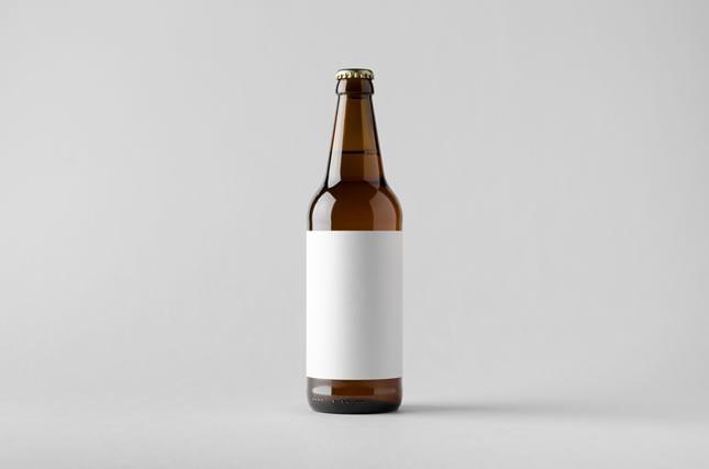 瓶に貼られたラベル