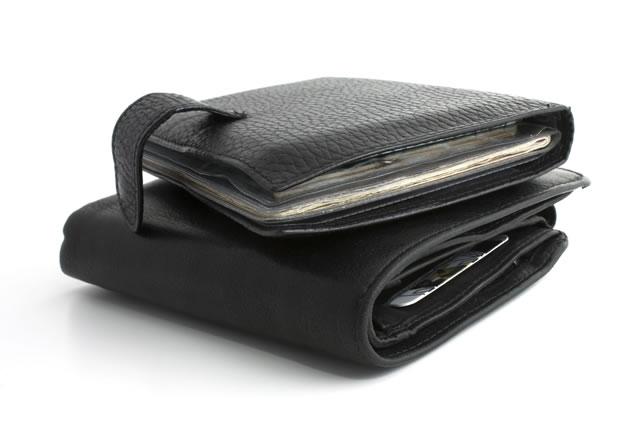 2種類の財布