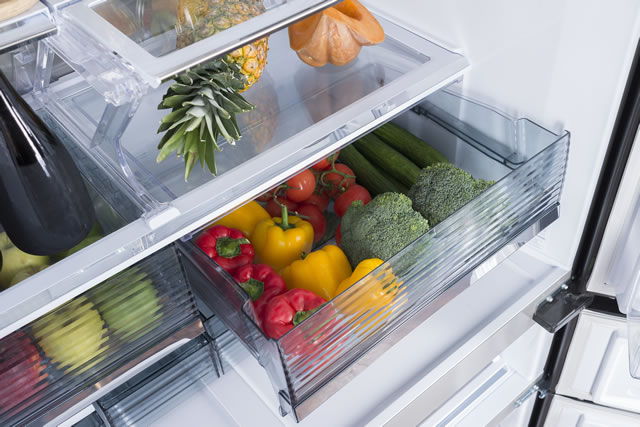 冷蔵庫の野菜