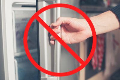 冷蔵庫のNGな使い方とは