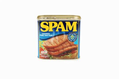 スパムの缶詰